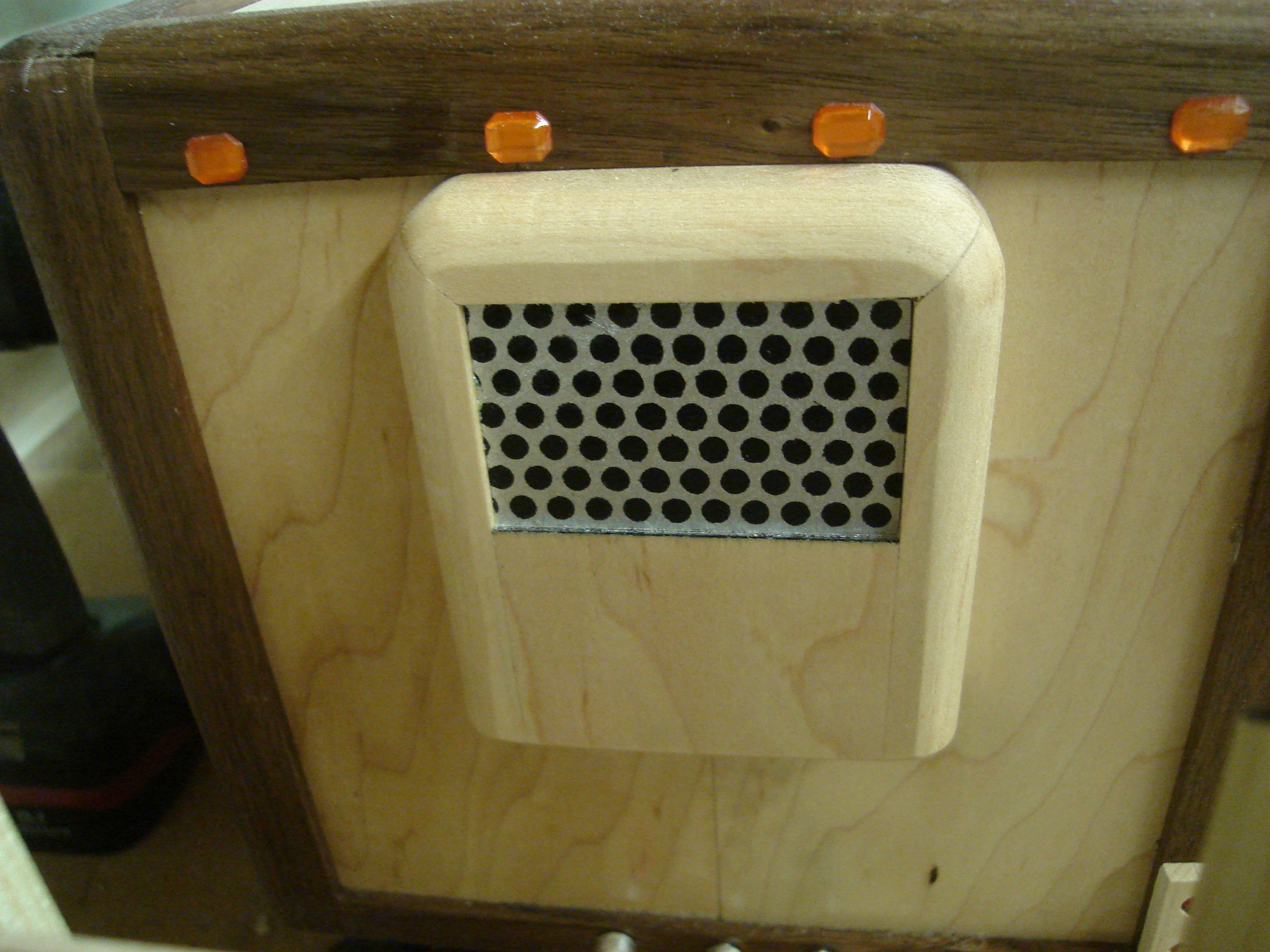 View Of Refrigeration Unit On Front Of Trailer Wooden Truck Handmade Wooden Wooden