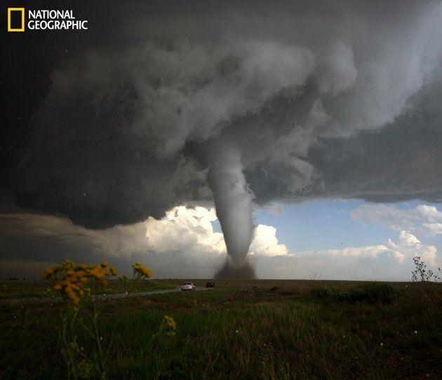 Tornado in southeast Colorado