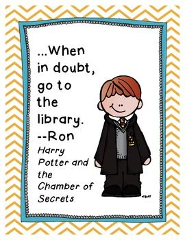 Harry Potter Quote posters  FREE. Love it if you left some comments or feedback. Or followed my blog or store. I'm not picky. :)