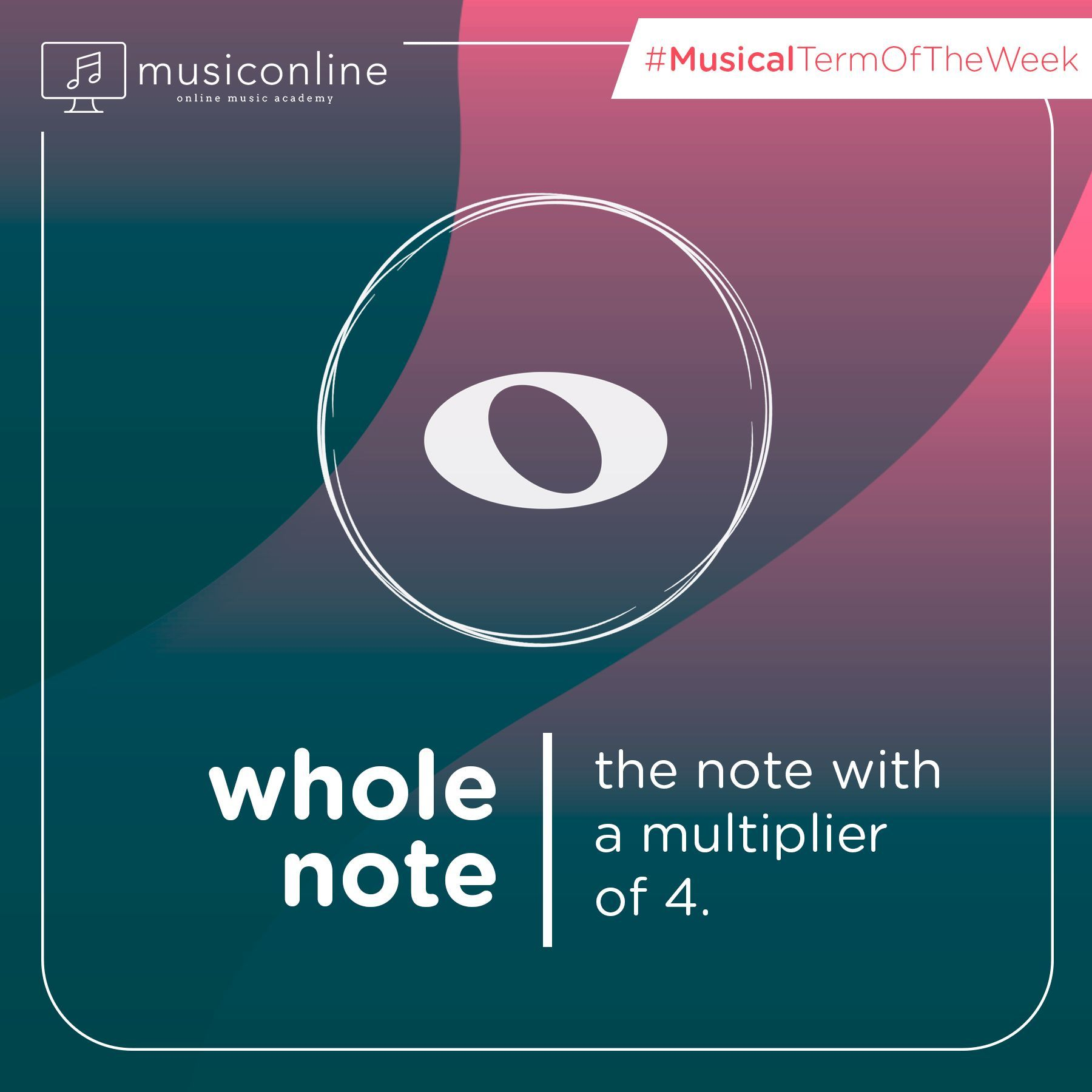 Musical term of the week is