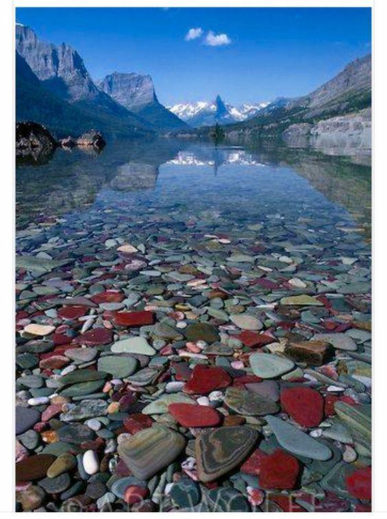 St Mary Lake Glacier National Park Montana In 2019