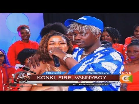 Exceptional Rayvanny introduces Lovely wife on 10 OVER 10 - YouTube