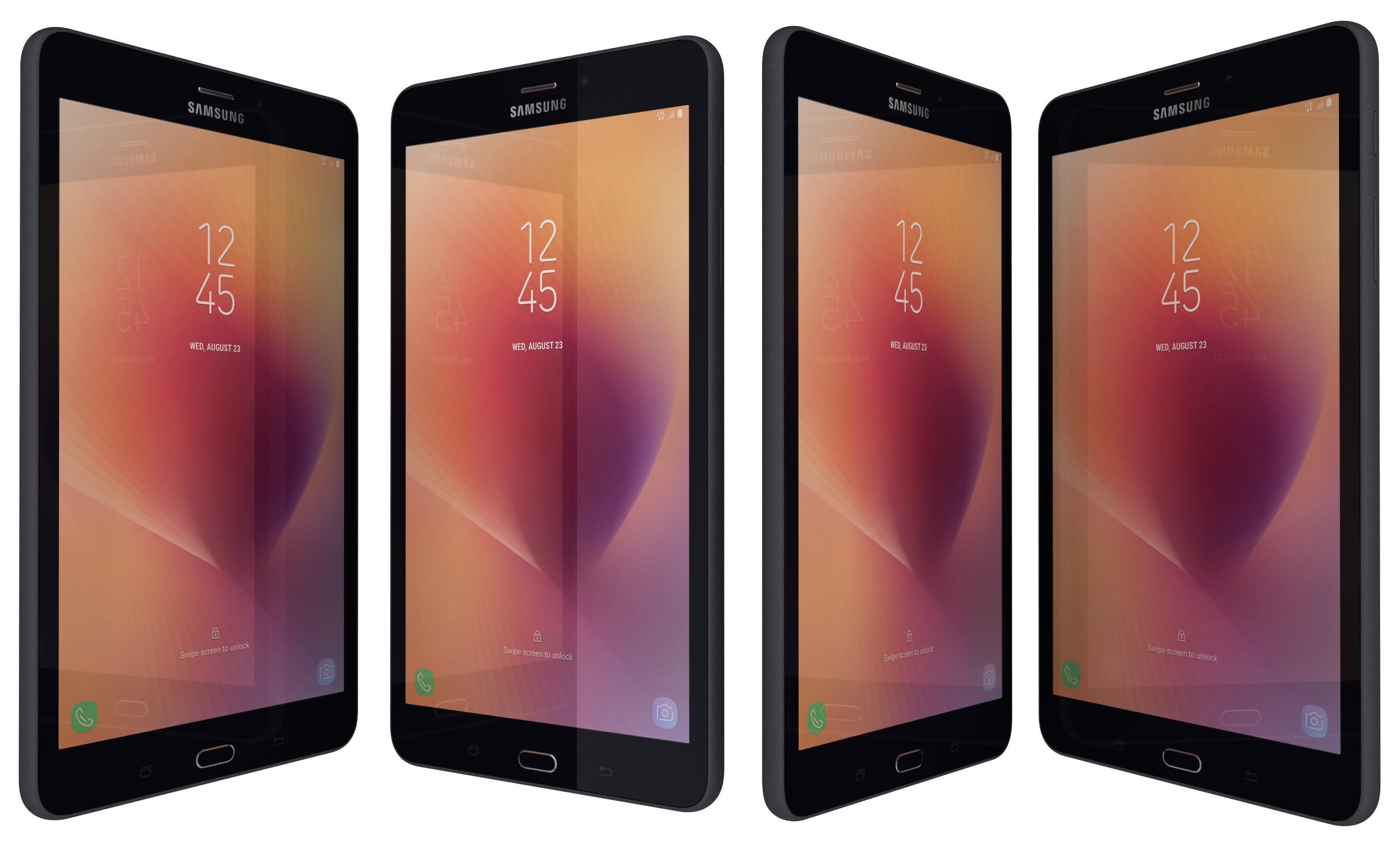 Samsung Galaxy Tab A 8.0 Black 3D Model ,#Tab#Galaxy#Samsung#Model