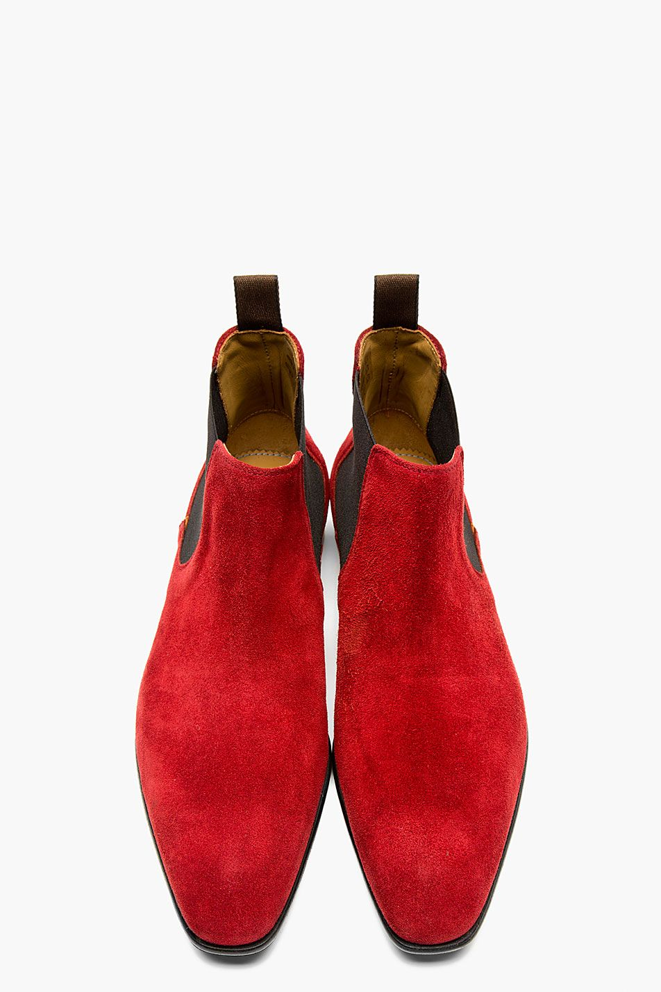 1570f527bba PAUL SMITH Red suede number. | Shoe Sleek | Mens shoes boots ...