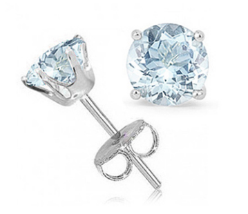 Now $5.99 (was $69.99). $5.99 for 1.50 Carat Aquamarine 5MM Snap Setting Sterling Silver #StudEarrings. Found on DealsAlbum.com.