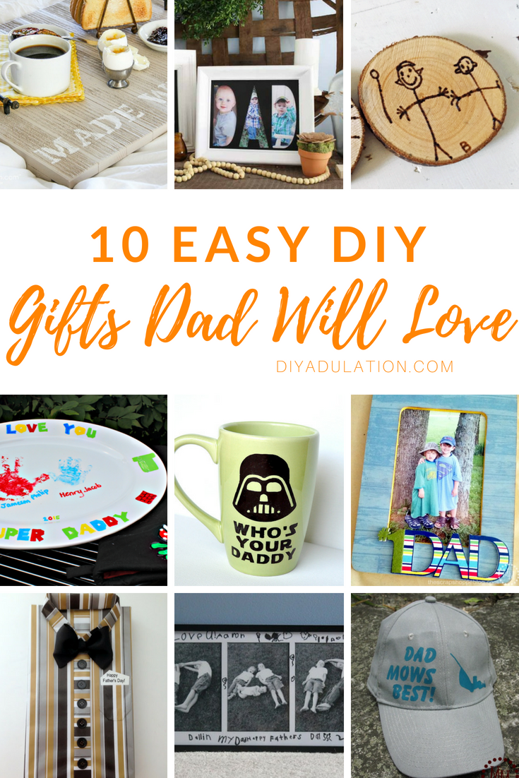 10 easy diy gifts dad will love dont let fathers day creep up on you this year be prepared with solutioingenieria Images