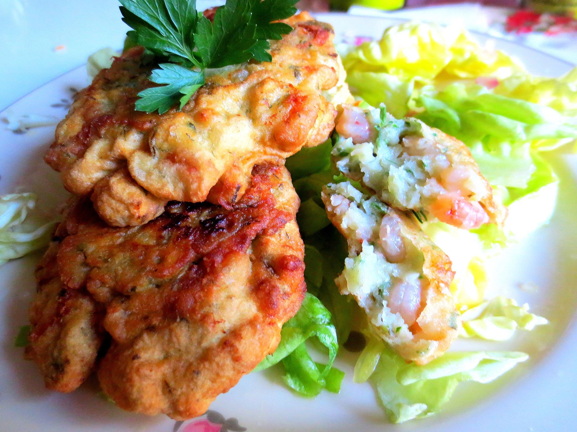Palets de Crevettes Andalous  (Tortillitas de camarones)