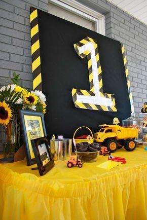 Construction Birthday Party Ideas | Photo 53 of 65 | Catch My Party #boybirthdayparties