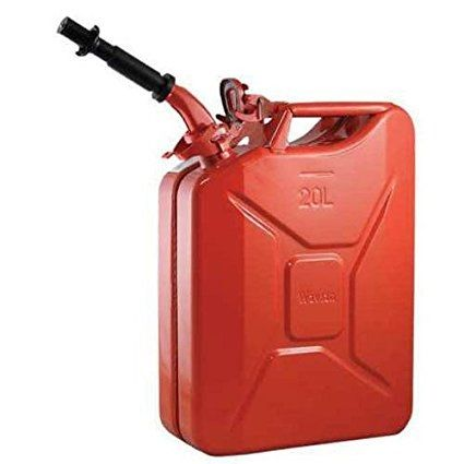 Review Alightup 5 Gal 20l Portable Jerry Gas Can Gasoline Fuel Bucket Emergency Backup Oil Water Petrol Diesel Fuel Storage C Jerry Can Gas Cans Fuel Storage