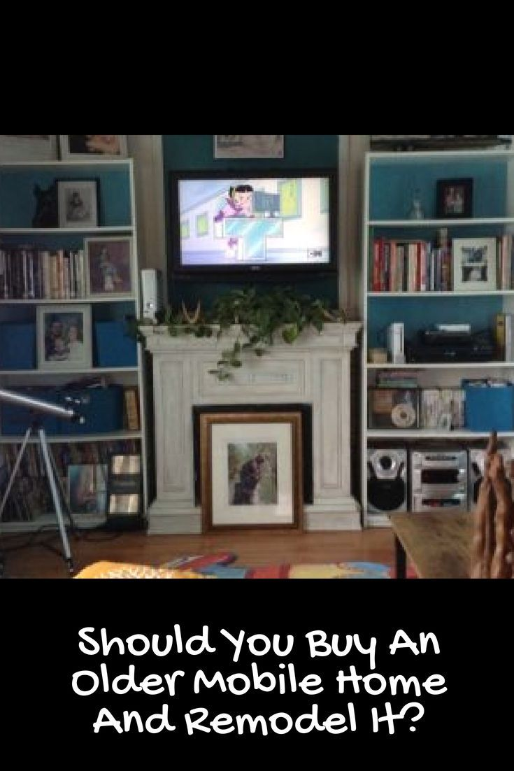 Should You Buy an Older Mobile Home and Remodel It? in 2018 | Mobile Home Improvement and Repair | Pinterest | Manufactured housing House remodeling and ...