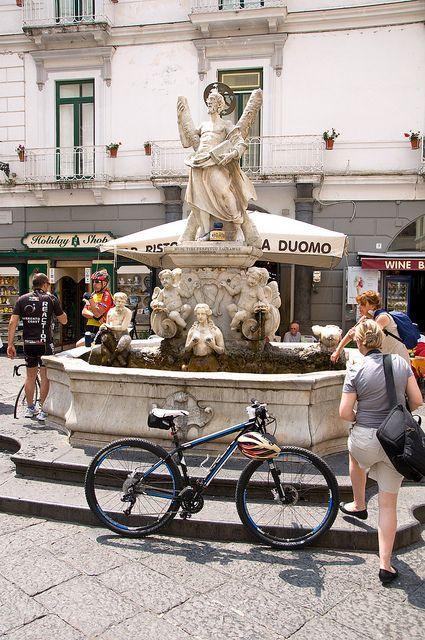 Saint Andrew's Fountain, Amalfi, Italy