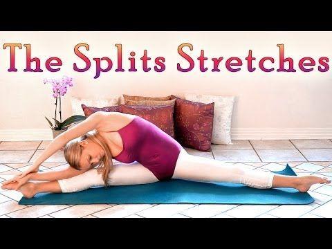 the splits stretches middle splits flexibility workout