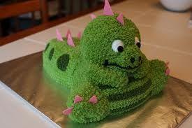 Stegasauas cake.