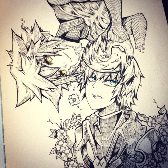 36 curated sora and roxas ideas by SMFartist   Heart
