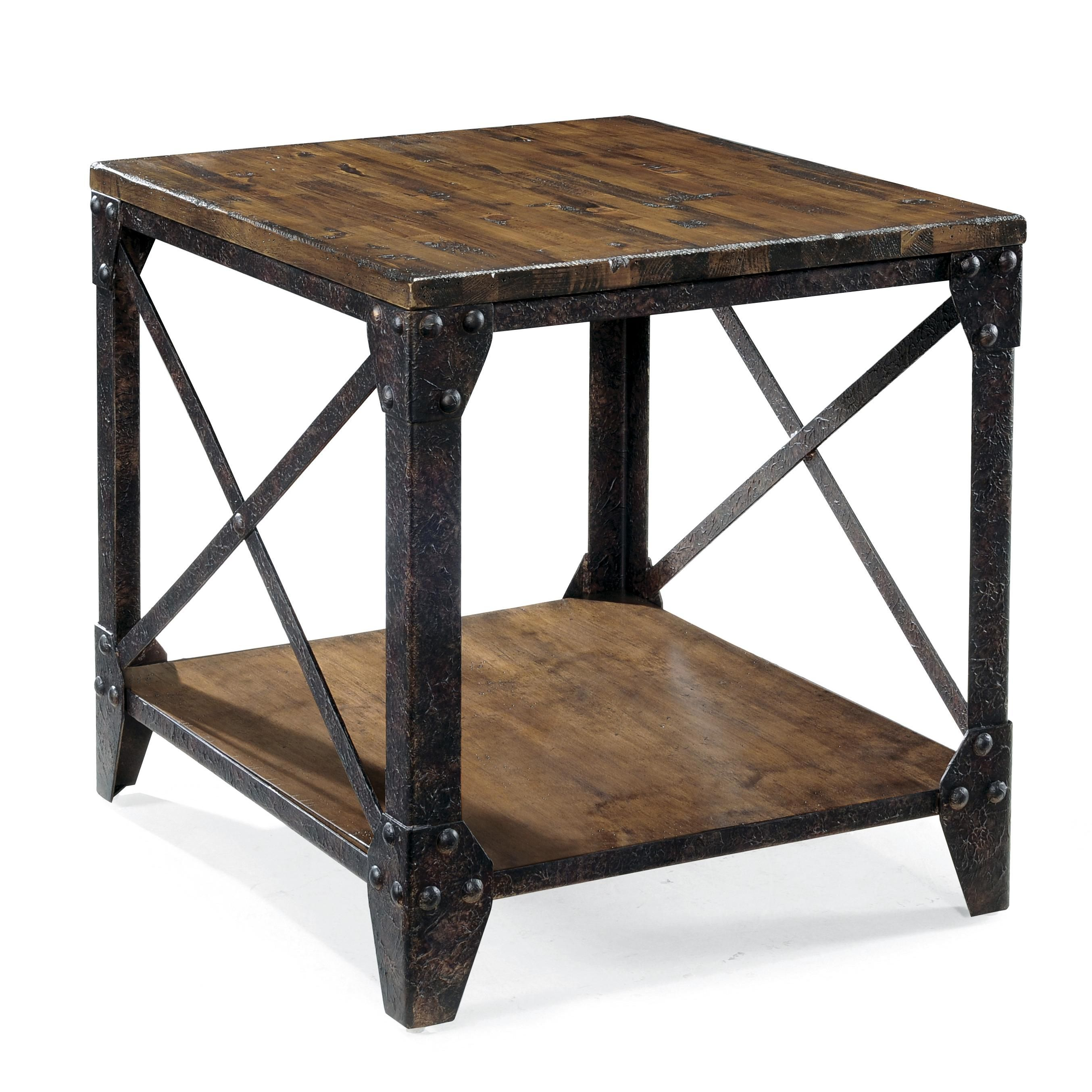 Pinebrook Rectangular End Table by Belfort Select