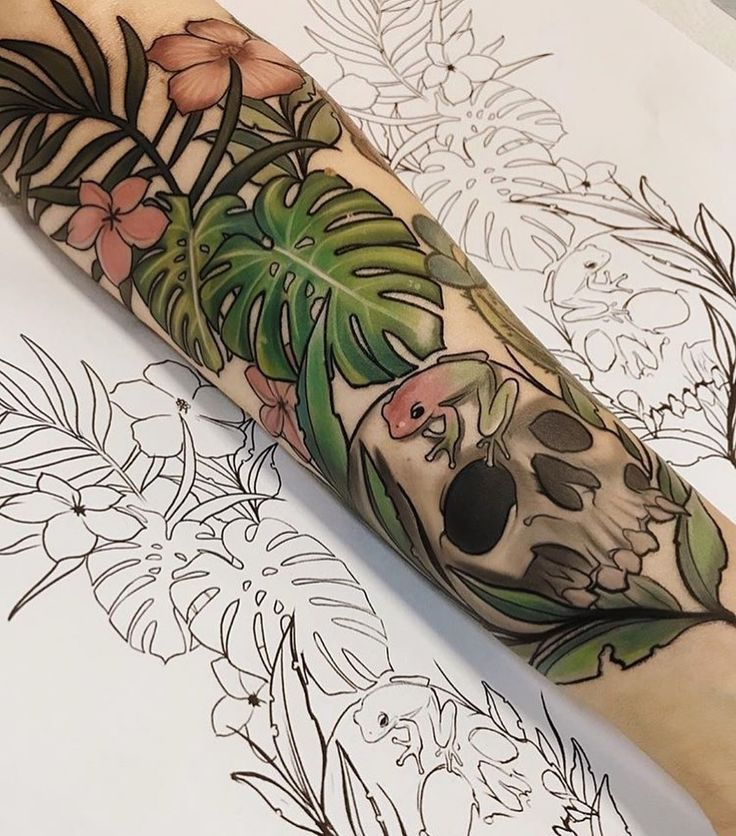 Photo of tattoo ink arm Ink