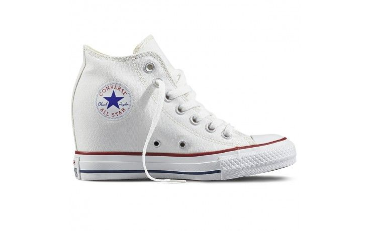 all star converse blancas niña