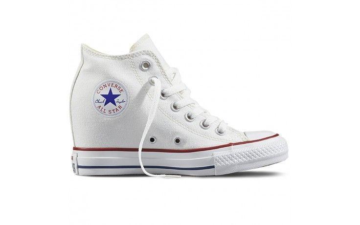sneakers mujer cuña converse