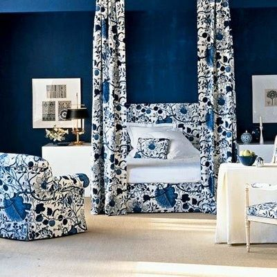 Blue And White Bedrooms beautiful blue and white bedrooms | bedrooms, white rooms and