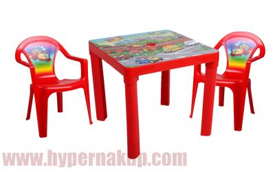 d71c1d965eca Detský plastový stôl a stoličky