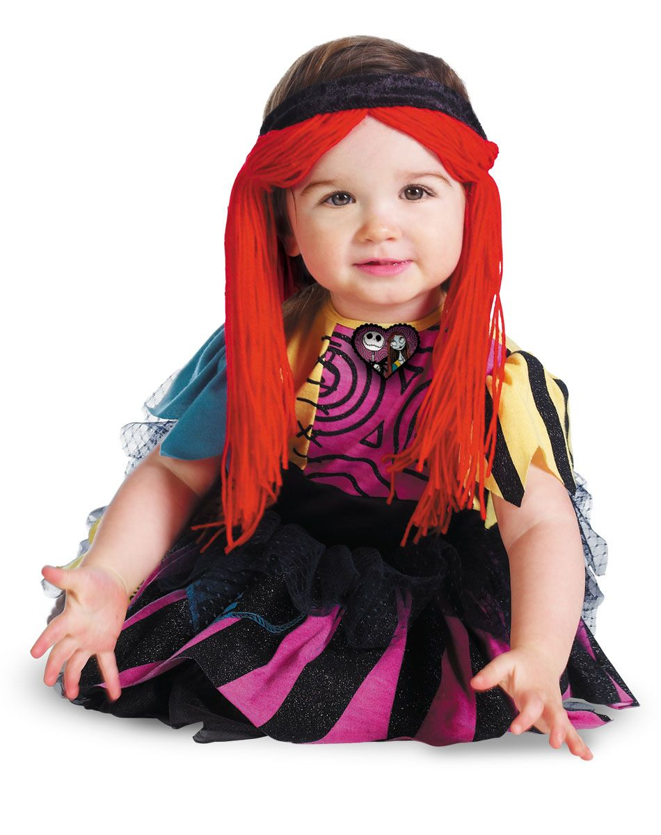 Nightmare Before Christmas Sally Prestige Infant's Costume DEF ...