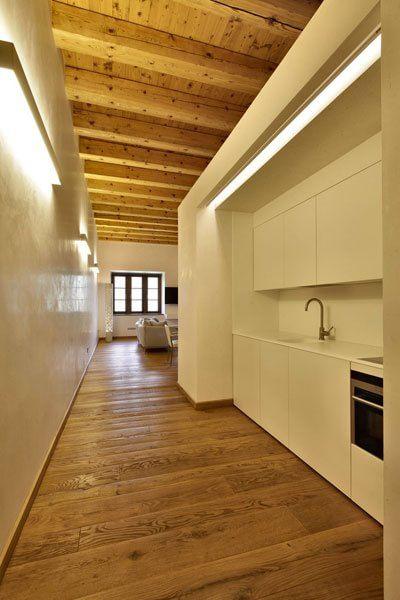 Ecco Come Costruire Una Cucina Nel Corridoio Di Casa