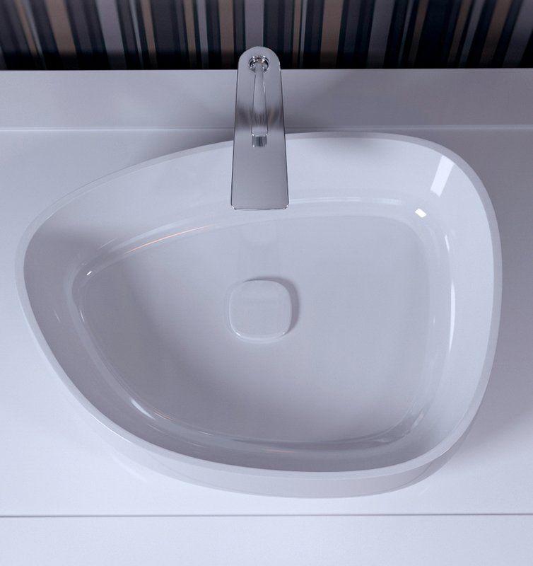Aquatica Metamorfosi Ceramic U Shaped Vessel Bathroom Sink Perigold Sink Glass Sink Small Bathroom