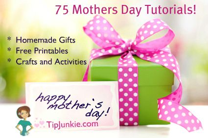 75 Gift ideas .... NOT just for Mother's Day.