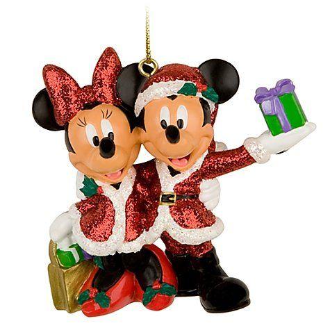 Santa Mickey and Minnie Mouse Christmas Ornament **Disney Theme Park EXCLUSIVE** Disney,http://www.amazon.com/dp/B005X5R0GY/ref=cm_sw_r_pi_dp_ofhGsb0YJS3FK0XY