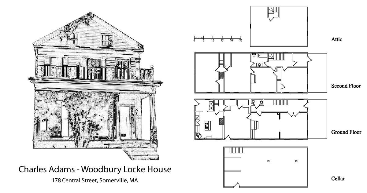 This Historic Greek Revival House Was Built In 1840 It Is 2 Stories With Attic And Basement Charles Adams Woodbury Locke Clapboard Siding Clapboard Woodbury