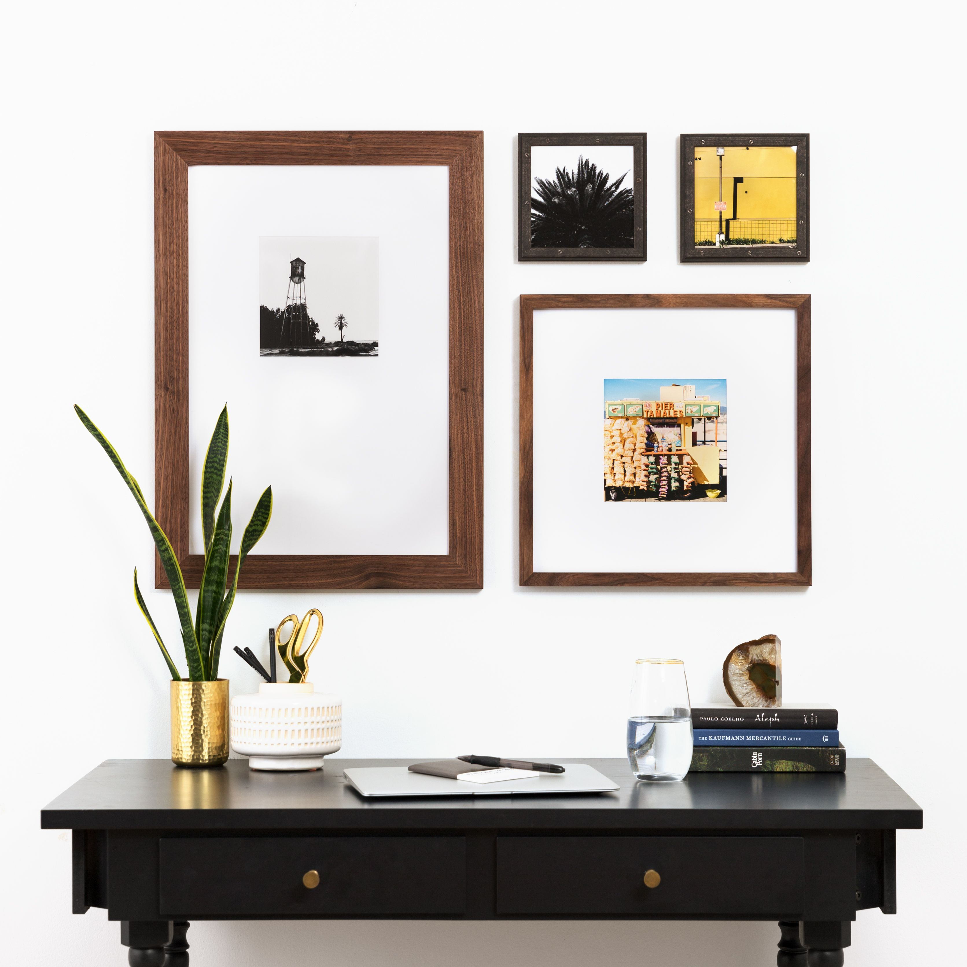 The Uneven Grid 4 Gallery Frames 36 X 25 Framebridge Gallery Wall Layout Framebridge Gallery Wall Gallery Wall Inspiration