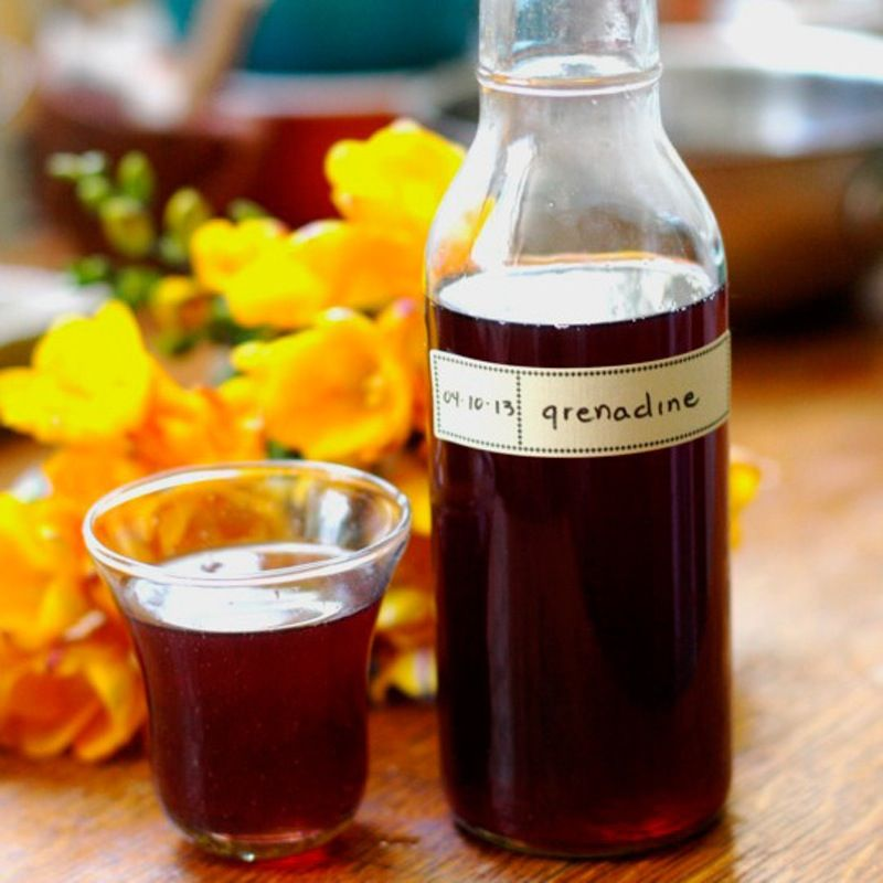 How To Make Grenadine Syrup from Scratch