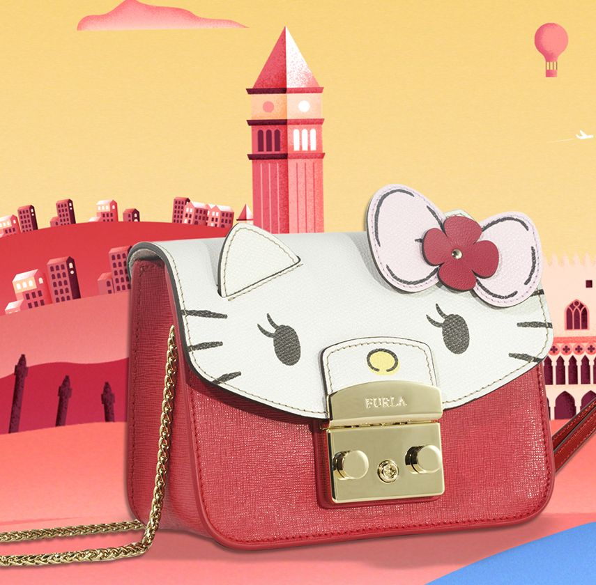 fe5142ae0 Furla.com | HELLO KITTY COLLECTION | hello kitty bags | Hello kitty ...