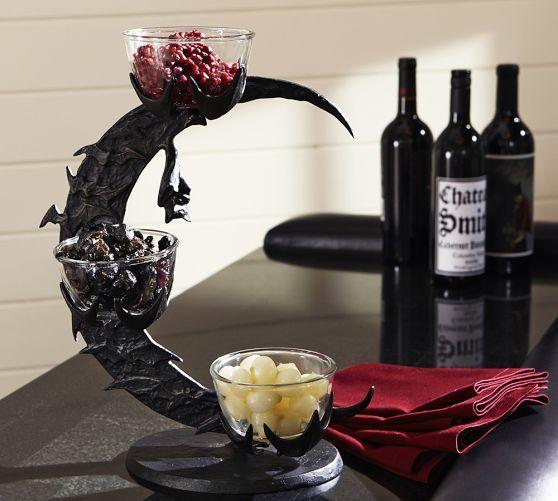 2014 Halloween Mdse Sightings In Stores: Bat Branch Condiment Set