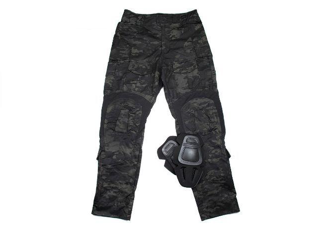 e3810335033c3 EbairSoft Airsoft parts & Tactical Gear. TMC G3 Combat 3D Pants (Multicam  Black), Uniform shirt & pants, Shooter Combat Gear