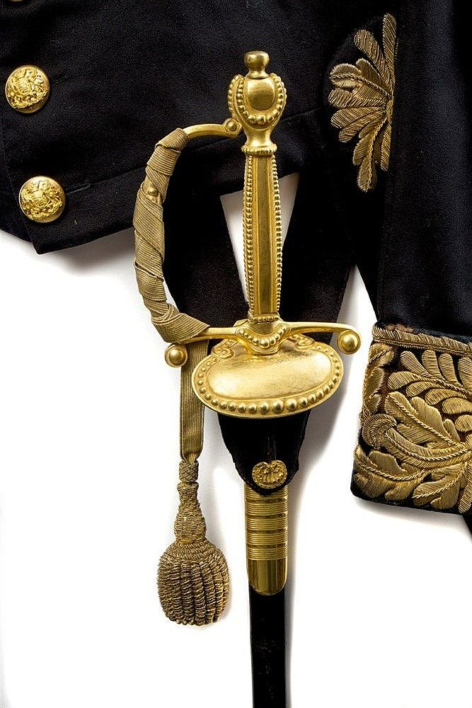 Fine Victorian Civil Service Court sword retailed by Ranken,