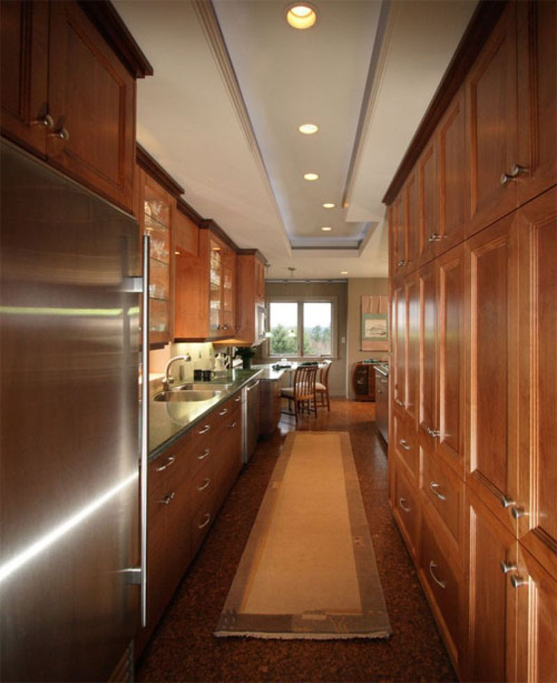 40 Awesome Galley Kitchen Remodel Ideas, Design ...