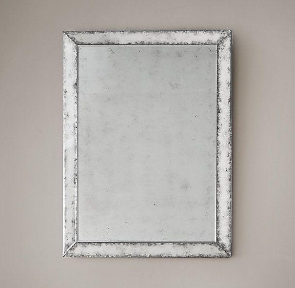 18th C Venetian Antiqued Glass Mirror Antique Glass