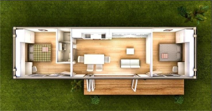 Container Home Average Cost One Bedroom Container Home Shipping Containers Are Cool They Are