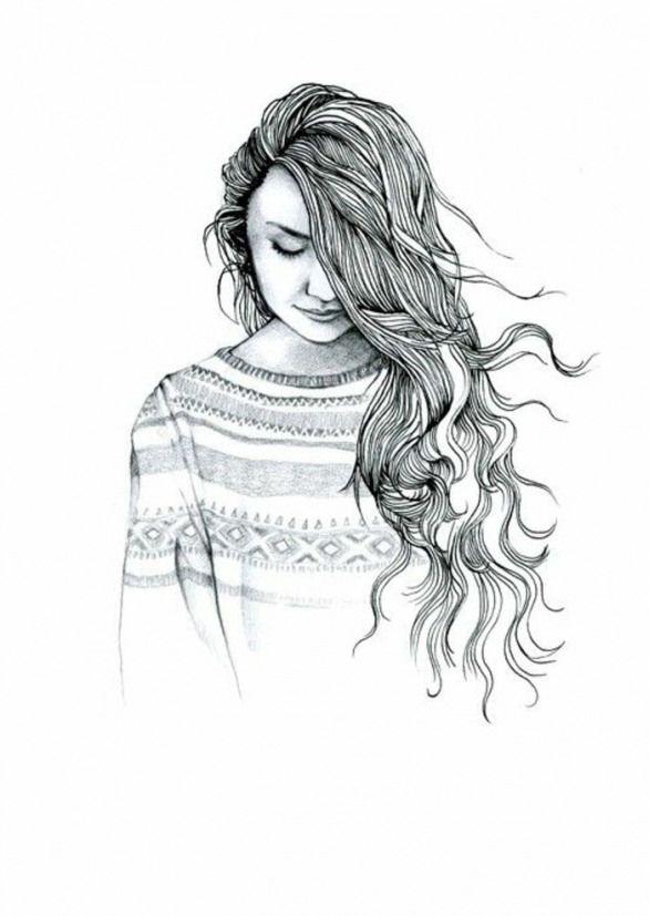 Dessin Fille Noir Et Blanc : dessin, fille, blanc, Tableau-dessin-a-imprimer-pour-fille-dessin-de-fille-swagg-artistique-belle, #animedrawing, #a…, Facile, Dessiner,, Dessins, Faciles, Enfants,, Dessin, Fille