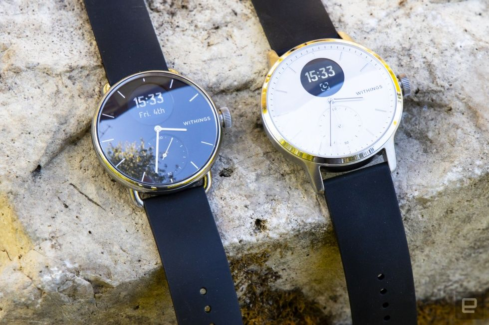 Withings' ScanWatch is the best hybrid smartwatch I've tried so far | Engadget