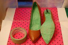 Tutorial: Teñir zapatos de piel