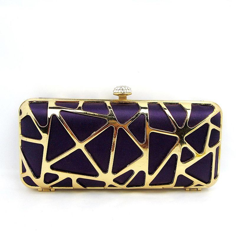 Purple Clutch Bag (DM11461) - China Party Bag,Evening Bag ...