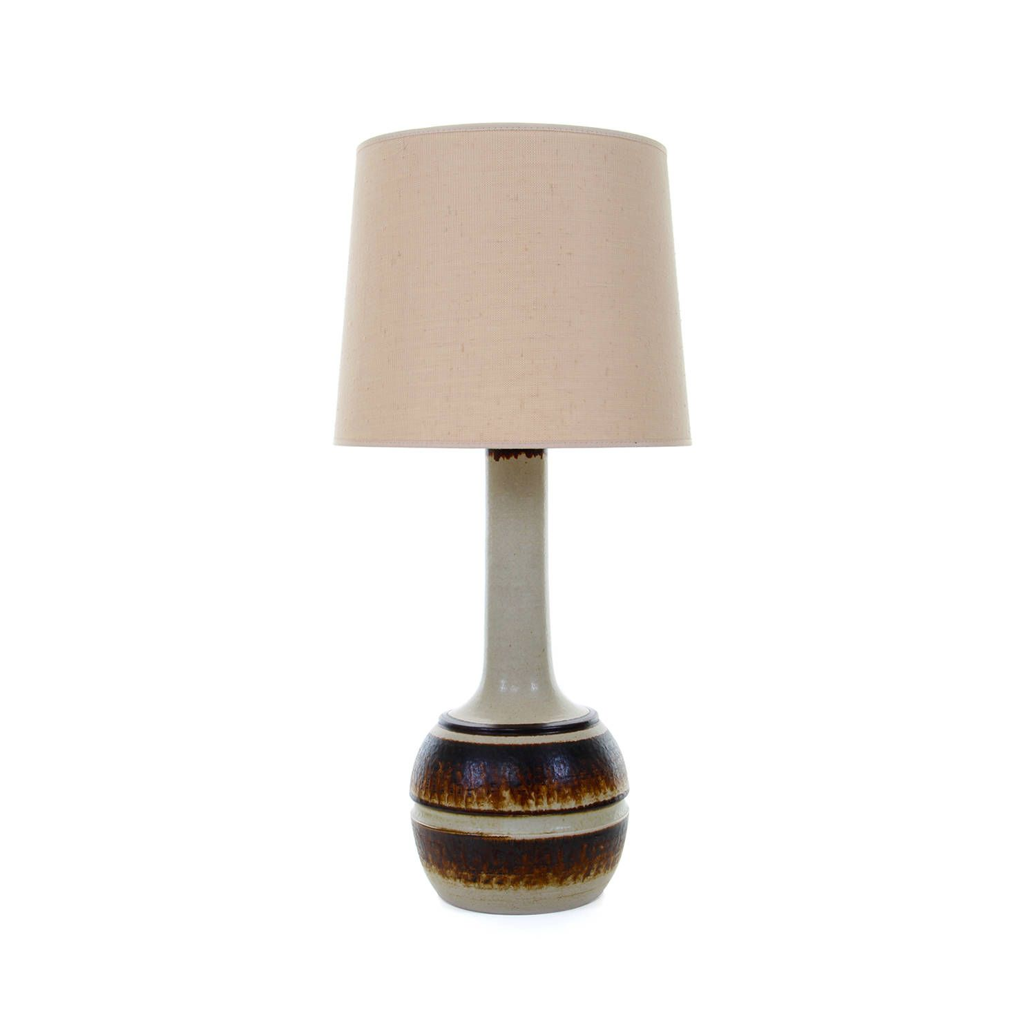 Large Stoneware Table Lamp No 964 By Axella Design 1970s