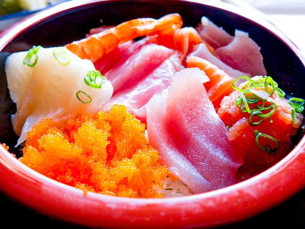 For Your Tailgate Party Chirashi Fish For Sushi