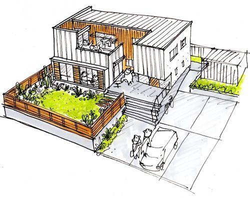 Pin de carlos castro en drawing casa minimalista casas for Casa minimalista dwg