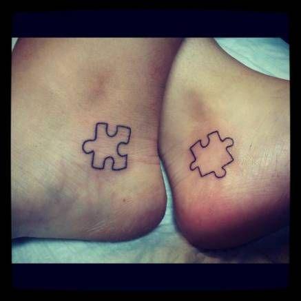 30 Ideas Tattoo Best Friend Bff Puzzle Pieces
