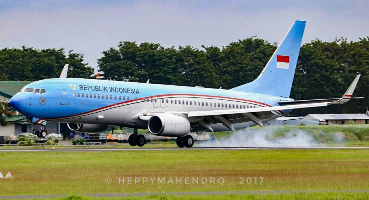 Indonesia Air Force One Armed Forces Boeing 737 Air Force