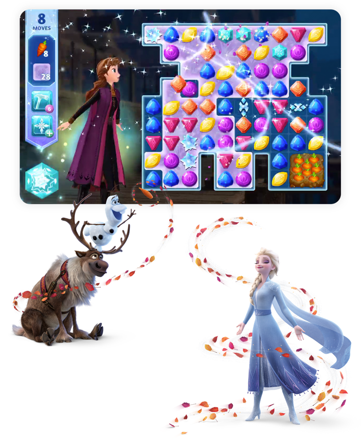 Have Fun With Frozen 2 App Store Story Disney emoji