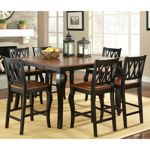 Roslyn 7-Piece Counter-Height Dining Set costco- new kitchen table